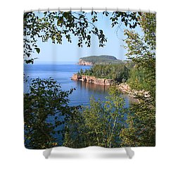 North Shore Lake Superior Shower Curtain