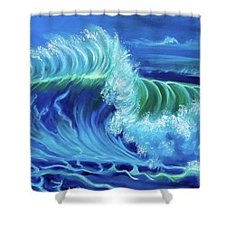 North Shore Wave Hawaii Jenny Lee Discount Shower Curtain