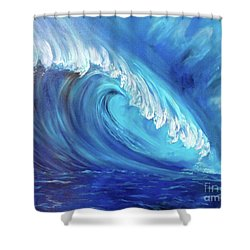 North Shore Wave Oahu 2 Shower Curtain