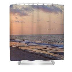 North Topsail Beach Glory Shower Curtain