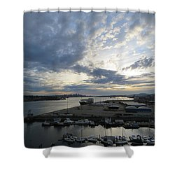 North Vancouver And Vancouver Shower Curtain