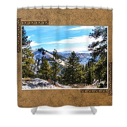 Shower Curtain featuring the photograph North View by Susan Kinney