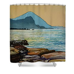 Northeast Coast Of Taiwan Shower Curtain