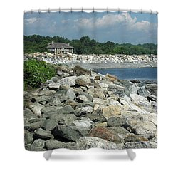 Northeast Us, Atlantic Coast, Rye Nh Shower Curtain