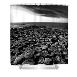 Northern Ireland 54 Shower Curtain