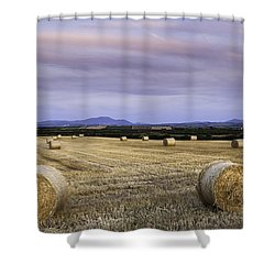 Northern Lakeland View Shower Curtain