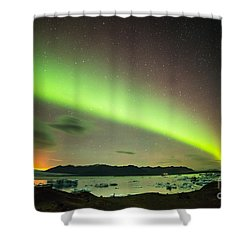 Northern Lights 6 Shower Curtain