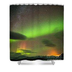 Northern Lights 8 Shower Curtain by Mariusz Czajkowski