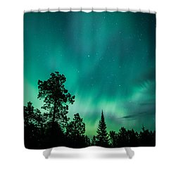 Northern Lights Tonight Shower Curtain