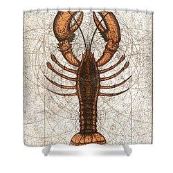 Northern Lobster Shower Curtain
