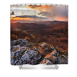 Shower Curtain featuring the photograph Northern Territory by Davorin Mance