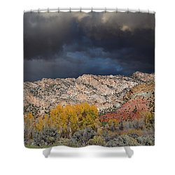 Northern Uintas Autumn Shower Curtain