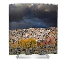 Northern Uintas Autumn Shower Curtain