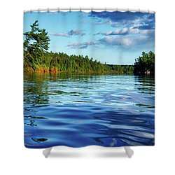 Northern Waters Shower Curtain