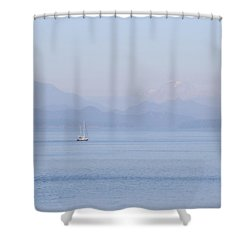 Northshore Sailing Shower Curtain