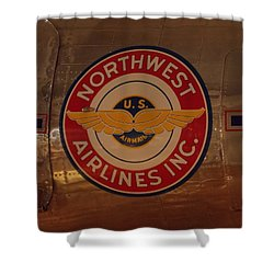 Northwest Airlines 1 Shower Curtain