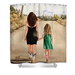 Northwest Oklahoma Sisters Shower Curtain