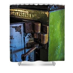 Shower Curtain featuring the photograph Northwestern Safe by Paul Freidlund