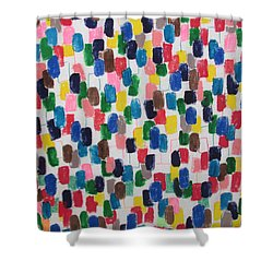 Northwood Way - Artwork On T-shirt Shower Curtain