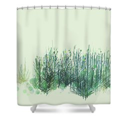 Northwoods Shower Curtain