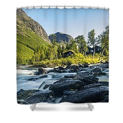 Norway II Shower Curtain