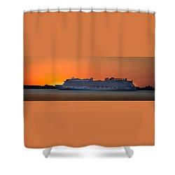 Norwegian Breakaway Shower Curtain
