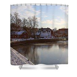 Norwegian Fjords. Shower Curtain