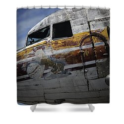 Nose Art Shower Curtain