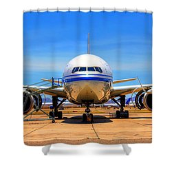 Nose Shower Curtain