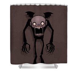 Nosferatu Shower Curtain by John Schwegel