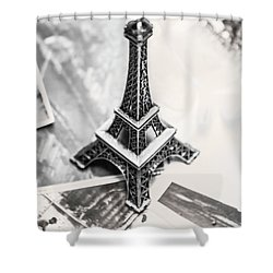 Nostalgia In France Shower Curtain