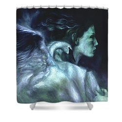 Shower Curtain featuring the painting Nostalgia by Ragen Mendenhall