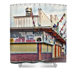 Nostalgic Arcade Shower Curtain