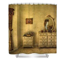 Nostalgic Harmonies  Shower Curtain by Evelina Kremsdorf