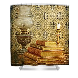 Shower Curtain featuring the photograph Nostalgic Memories by Heiko Koehrer-Wagner
