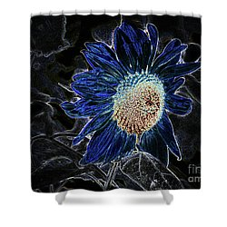 Not A Sunflower Now Shower Curtain