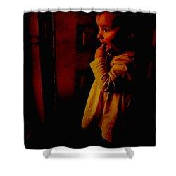 Not Afraid Of The Dark Shower Curtain