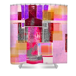 Not All In Heaven I Have Hated Shower Curtain by Danica Radman