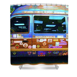 Shower Curtain featuring the photograph Grateful Dead - Not Fade Away by Susan Carella
