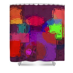 Nothing Ventured Nothing Gained Shower Curtain