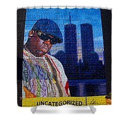 Notorious B.i.g. Shower Curtain