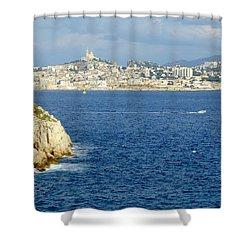 Notre Dame De La Garde Marseille  Shower Curtain