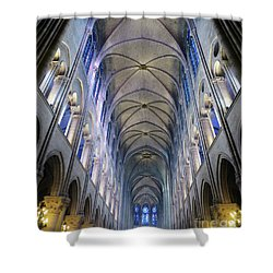 Notre Dame De Paris - A View From The Floor Shower Curtain