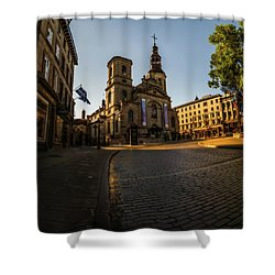 Notre-dame De Quebec Basilica-cathedral Shower Curtain