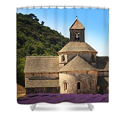 Notre-dame De Senanque  Abbey Provence France Shower Curtain