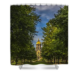 Notre Dame University 2 Shower Curtain