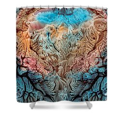 Noumenon Shower Curtain