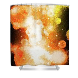 Shower Curtain featuring the photograph Nova 1.0 by James Bethanis