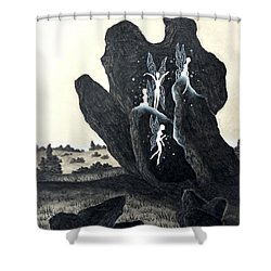 November Eve Shower Curtain
