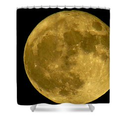 November Full Moon Shower Curtain